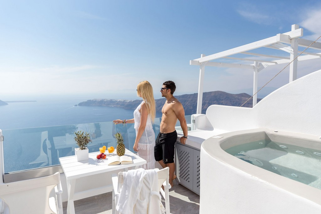 Unique Suites Santorini Room