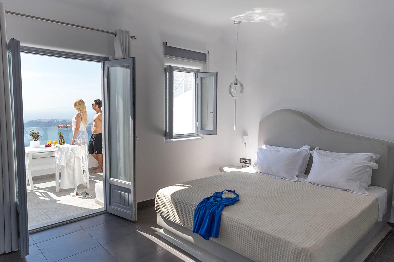 Unique Suites Santorini Room