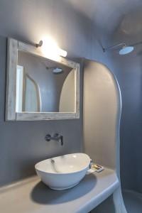 Unique Suites Santorini Bathroom